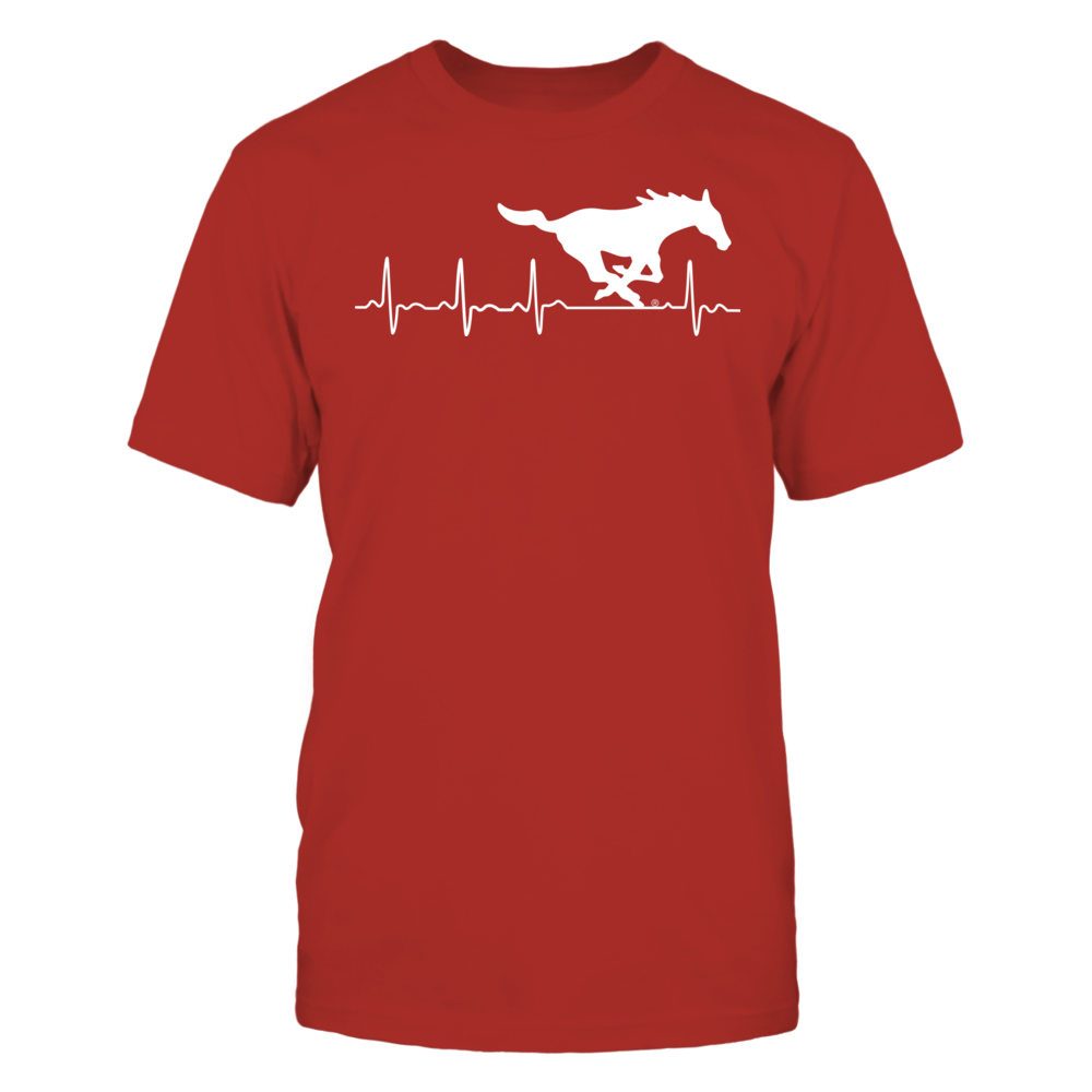SMU Mustangs - heartbeat Front picture