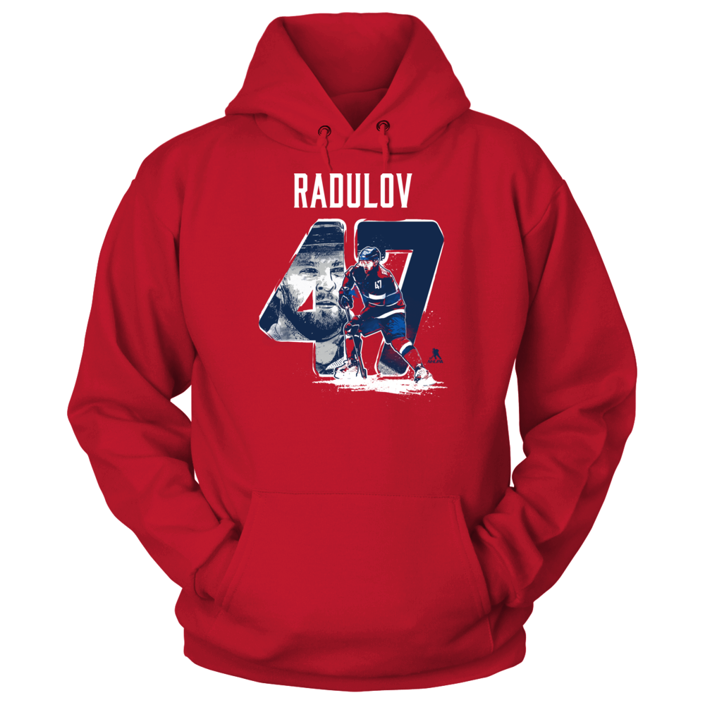Player Number - Alexander Radulov Front picture