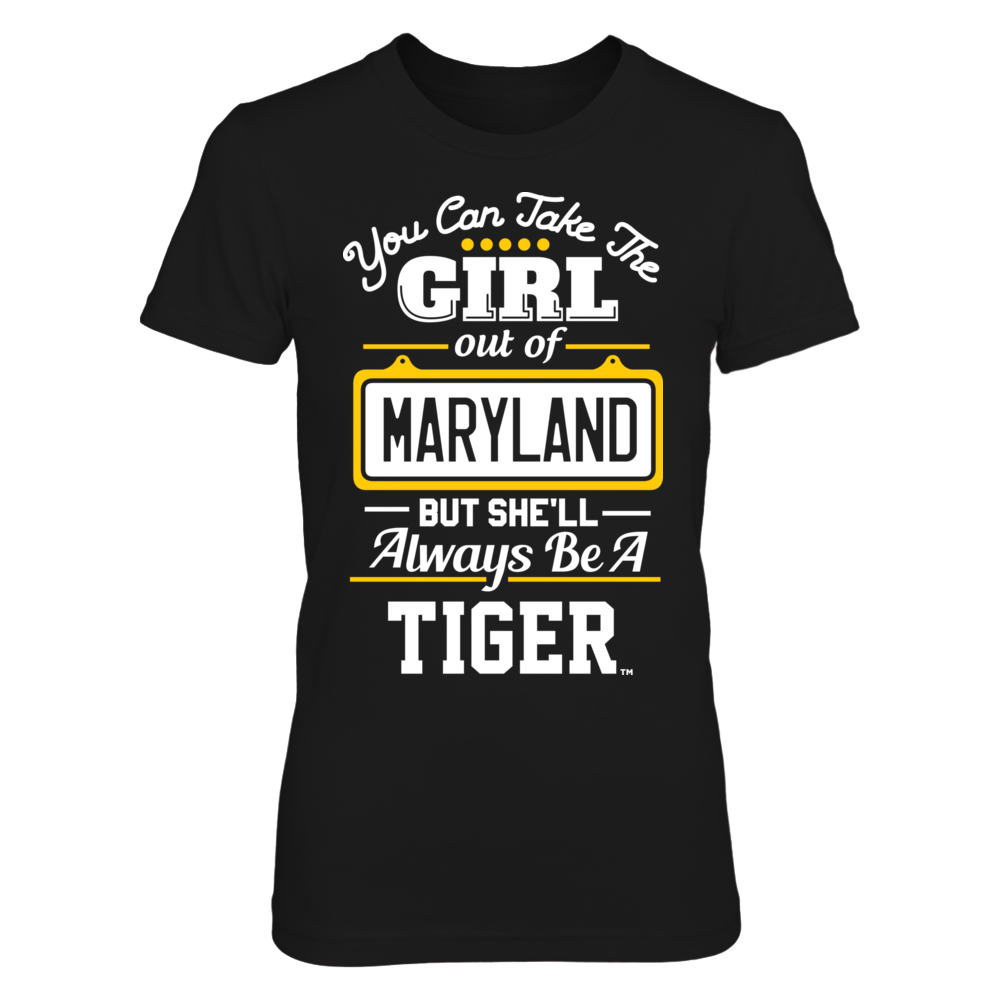 Towson Tigers Take The Girl Out But She'll Always Be - Towson Tigers FanPrint