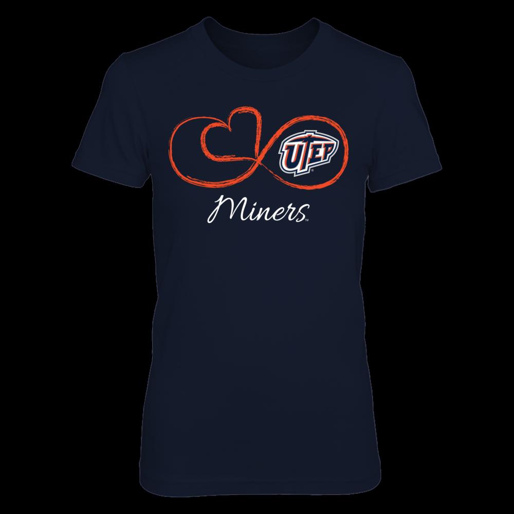 UTEP Miners Infinite Heart - UTEP Miners FanPrint
