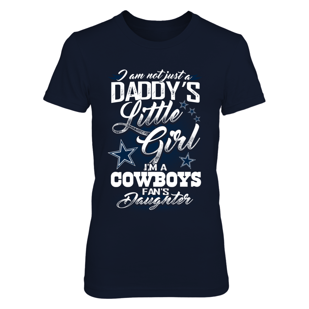 I'm not just Daddy Little Girl - Dallas Cowboys Front picture