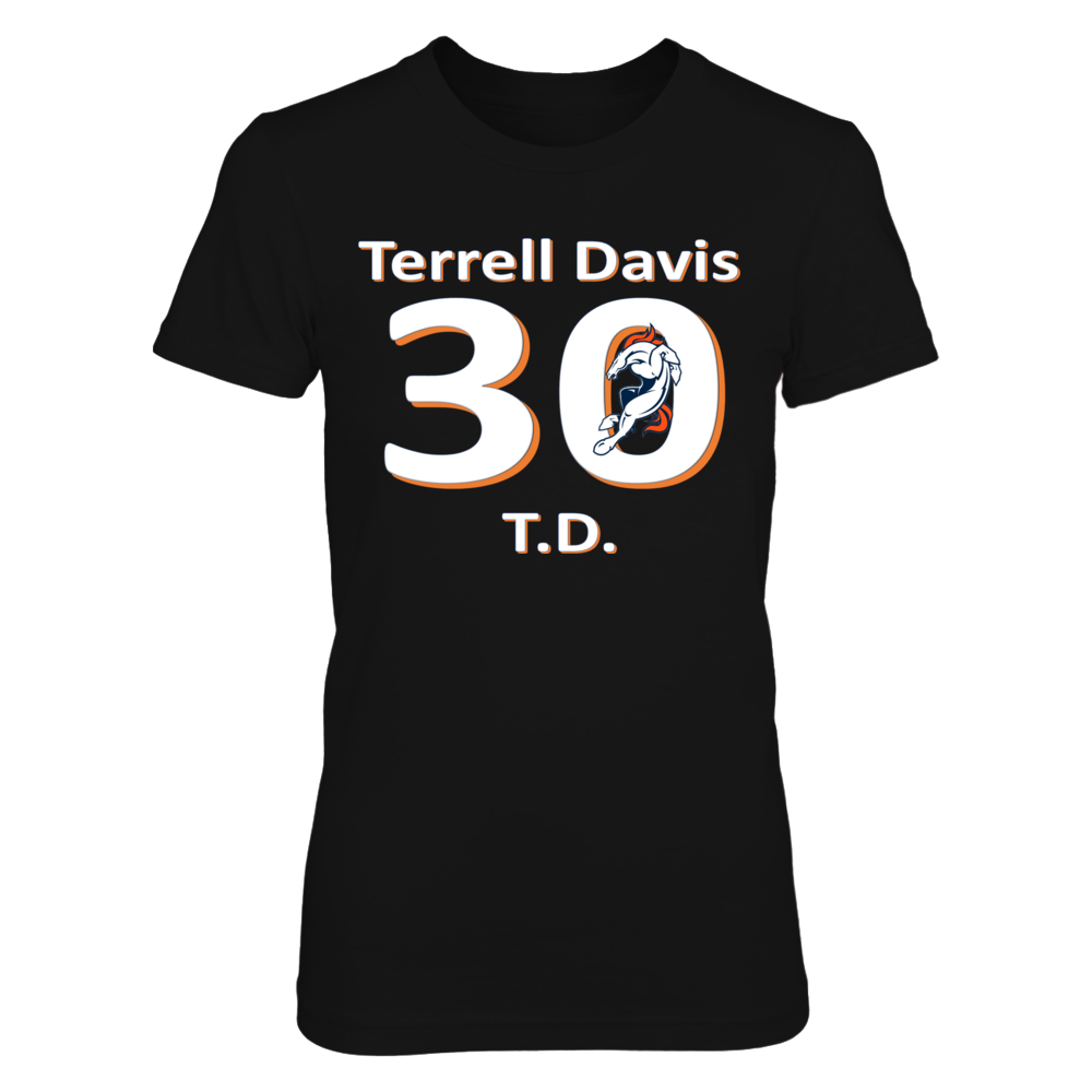 Terrell Davis - 2017  Hall of Fame Front picture