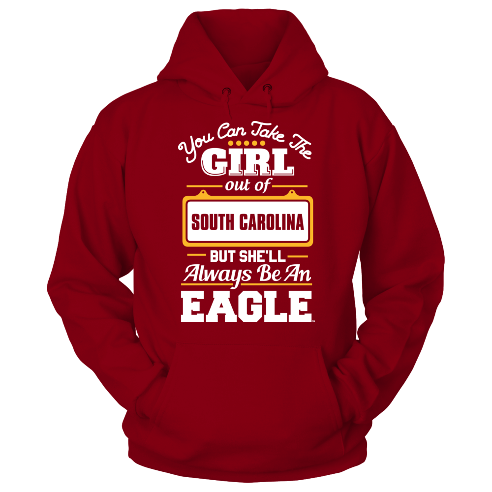 Winthrop Eagles Take The Girl Out But She'll Always Be - Winthrop Eagles FanPrint