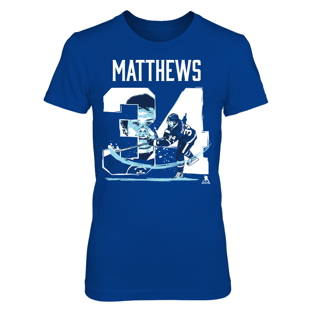 Player Number - Auston Matthews Front picture