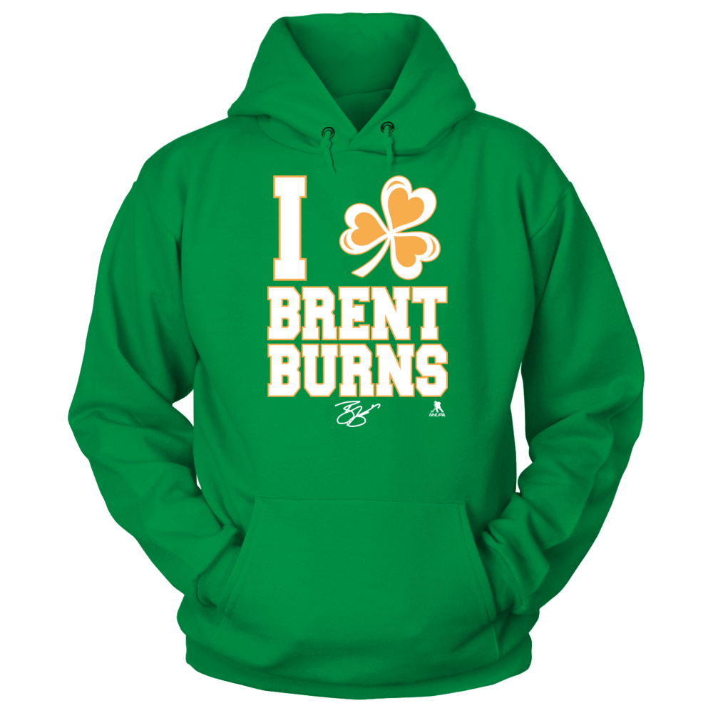 Brent Burns - I Shamrock Front picture