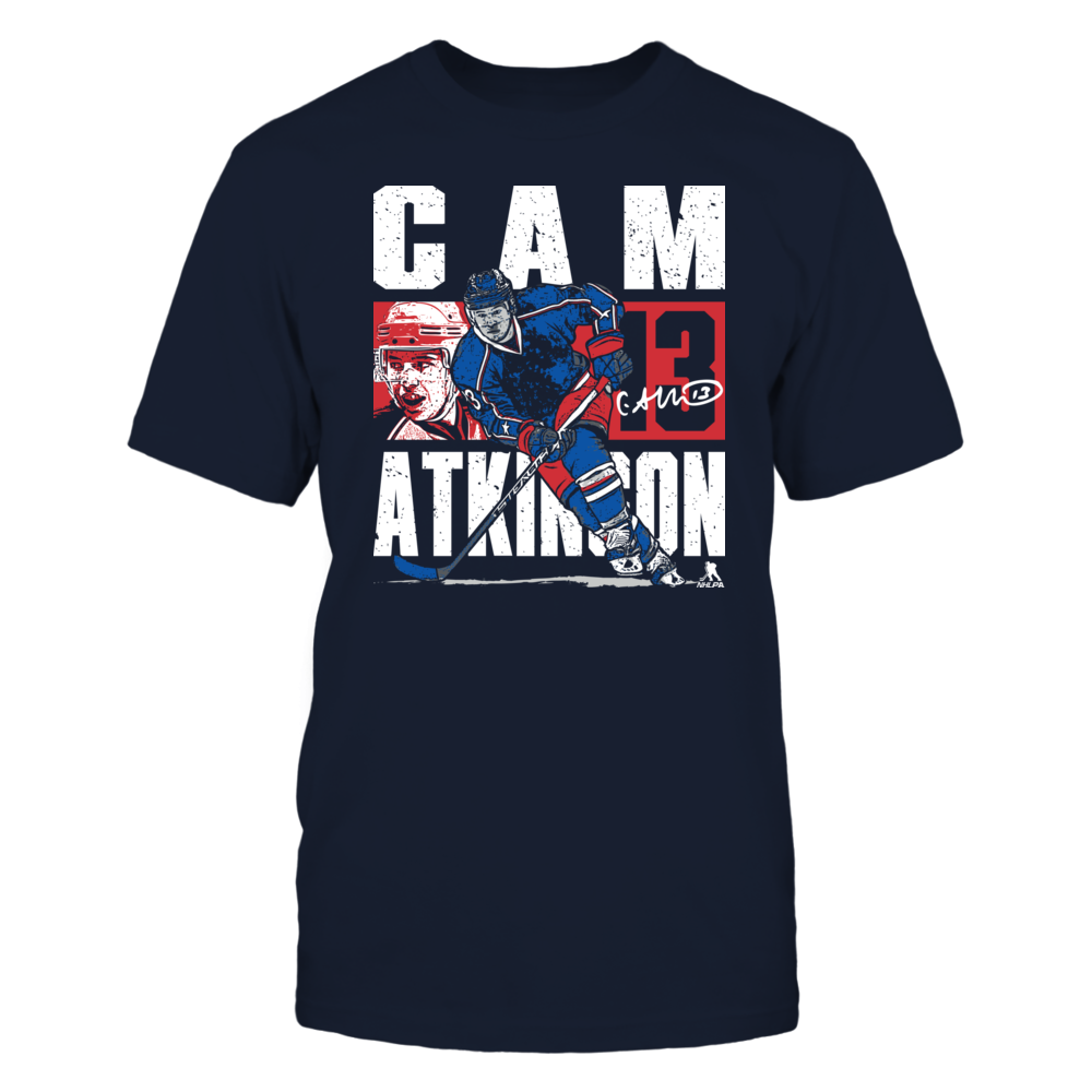 Cam Atkinson Cam Atkinson - Player Portrait FanPrint