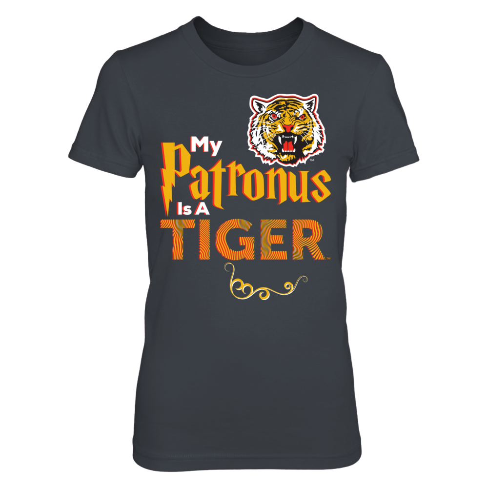 Official Grambling Tigers Fan Gear My Patronus is a Tiger Front picture
