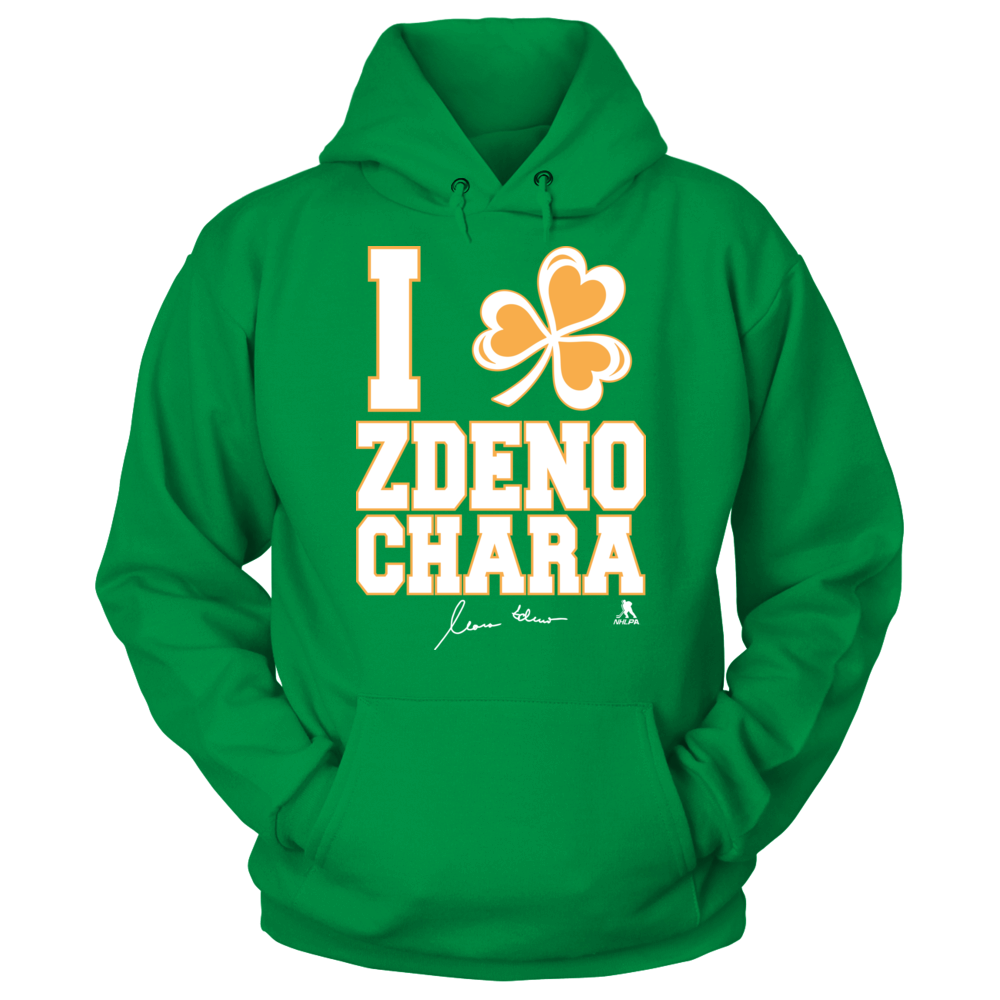 Zdeno Chara - I Shamrock Front picture