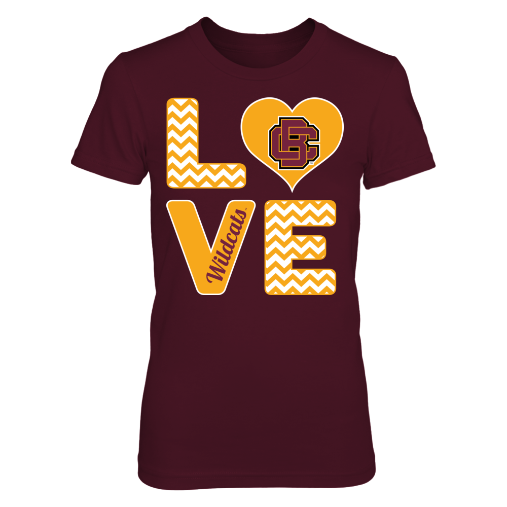Stacked Love - Bethune-Cookman Wildcats Front picture