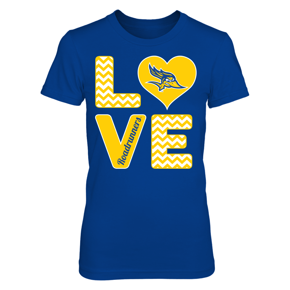 Cal State Bakersfield Roadrunners Stacked Love - Cal State Bakersfield Roadrunners FanPrint