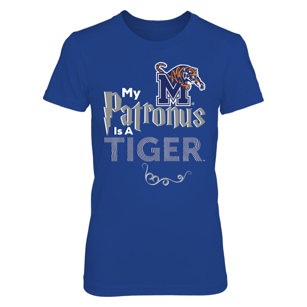 Official Memphis Tigers Fan Gear My Patronus is a Tiger Front picture