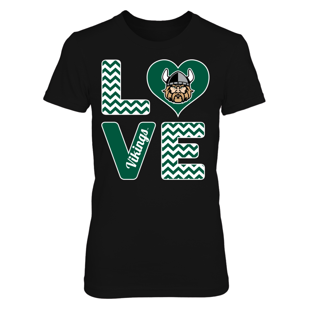 Stacked Love - Cleveland State Vikings Front picture
