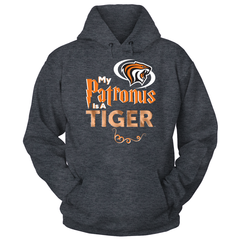 Official Pacific Tigers Fan Gear My Patronus is a Tiger Front picture