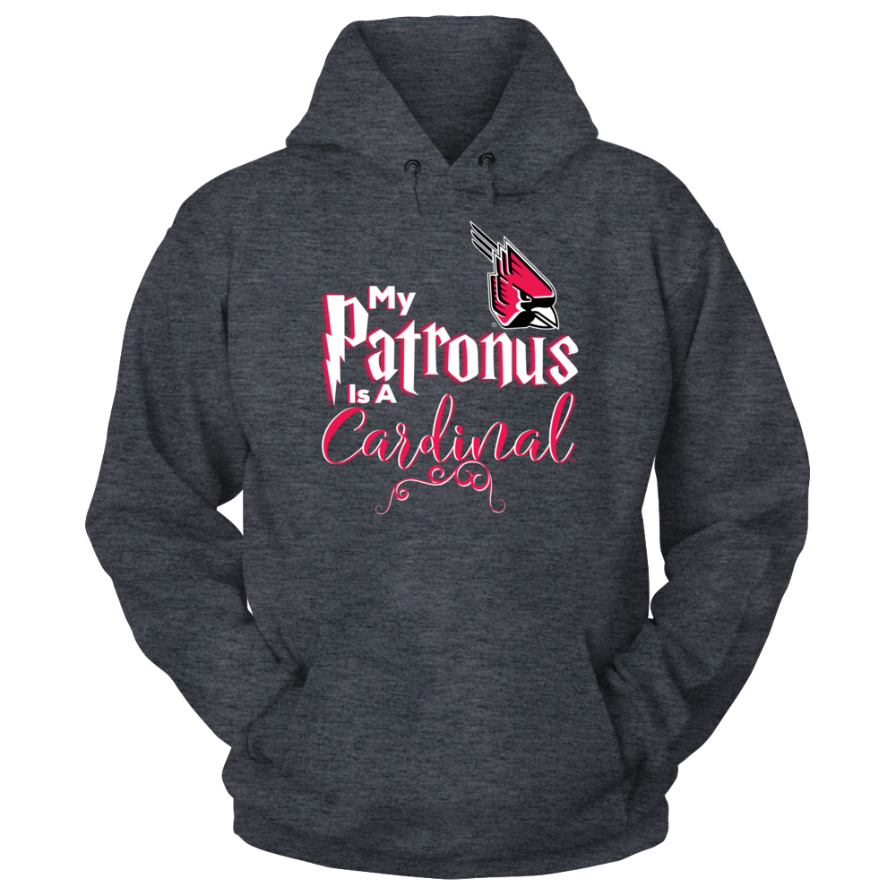 Ball State Cardinals Official Ball State  Cardinals Fan Gear My Patronus is a Cardinal FanPrint