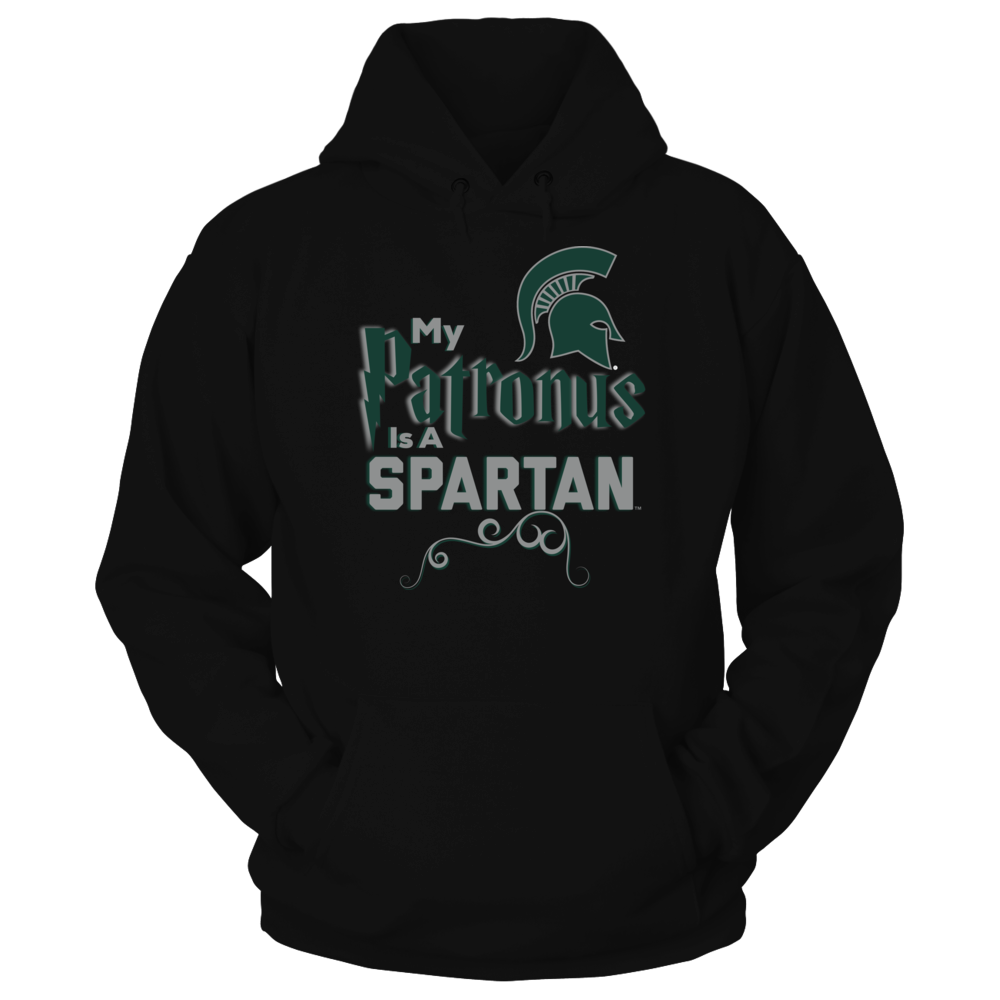Official Michigan State Spartans Fan Gear My Patronus is a Spartan Front picture