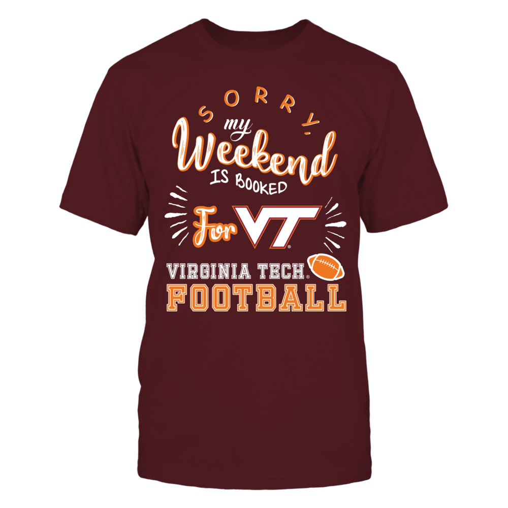 Virginia Tech Hokies - Weekend Is Booked Front picture