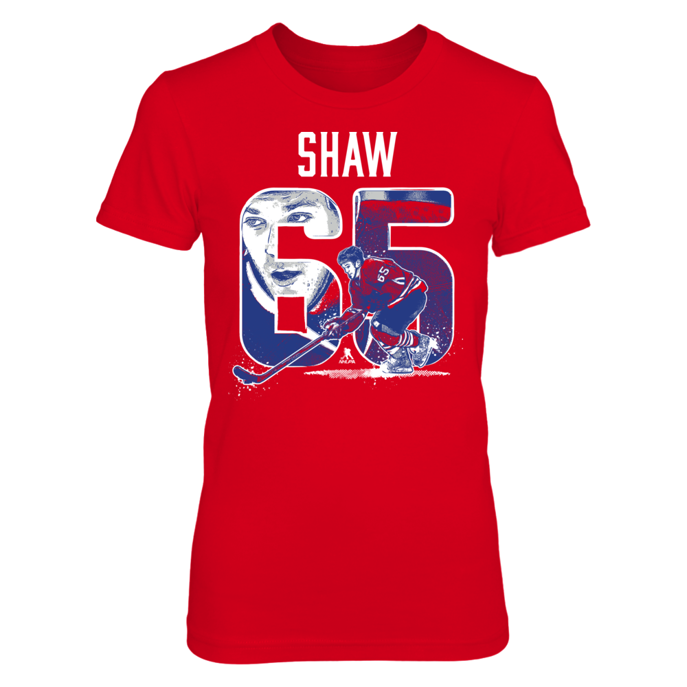 Andrew Shaw Player Number - Andrew Shaw FanPrint