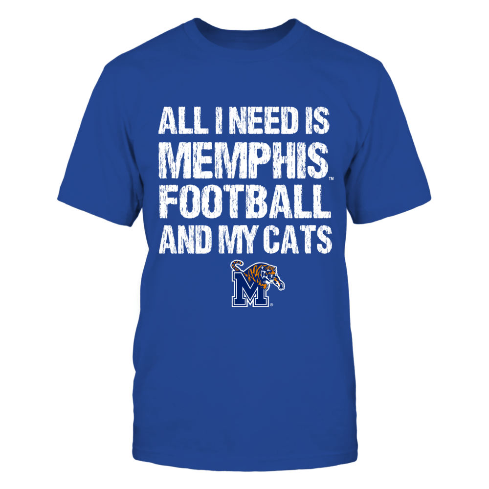 Memphis Tigers - All I Need - Football n Cats Front picture