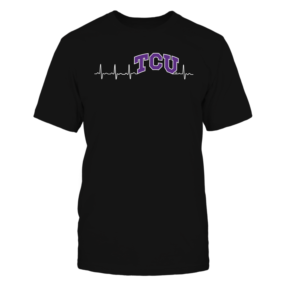 TCU Horned Frogs - heartbeat Front picture