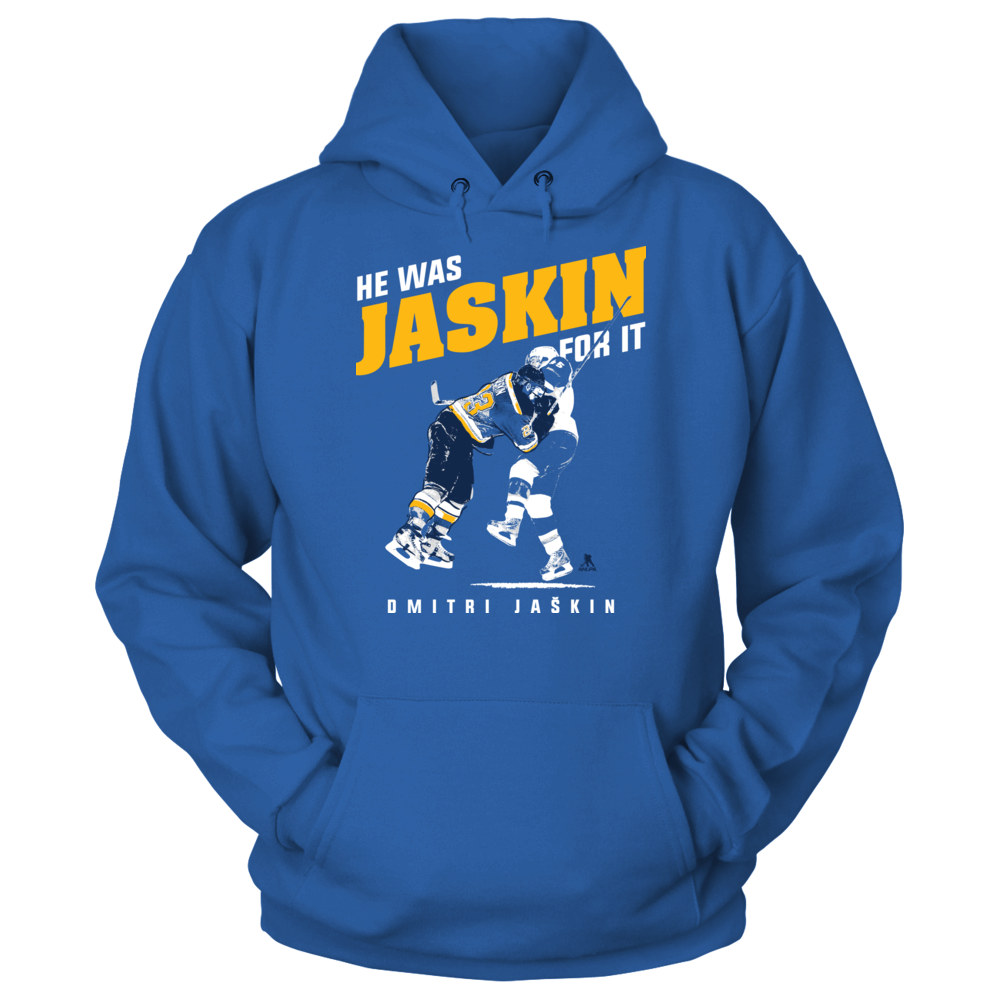 He was JASKIN for it - Dmitri Jaskin Front picture