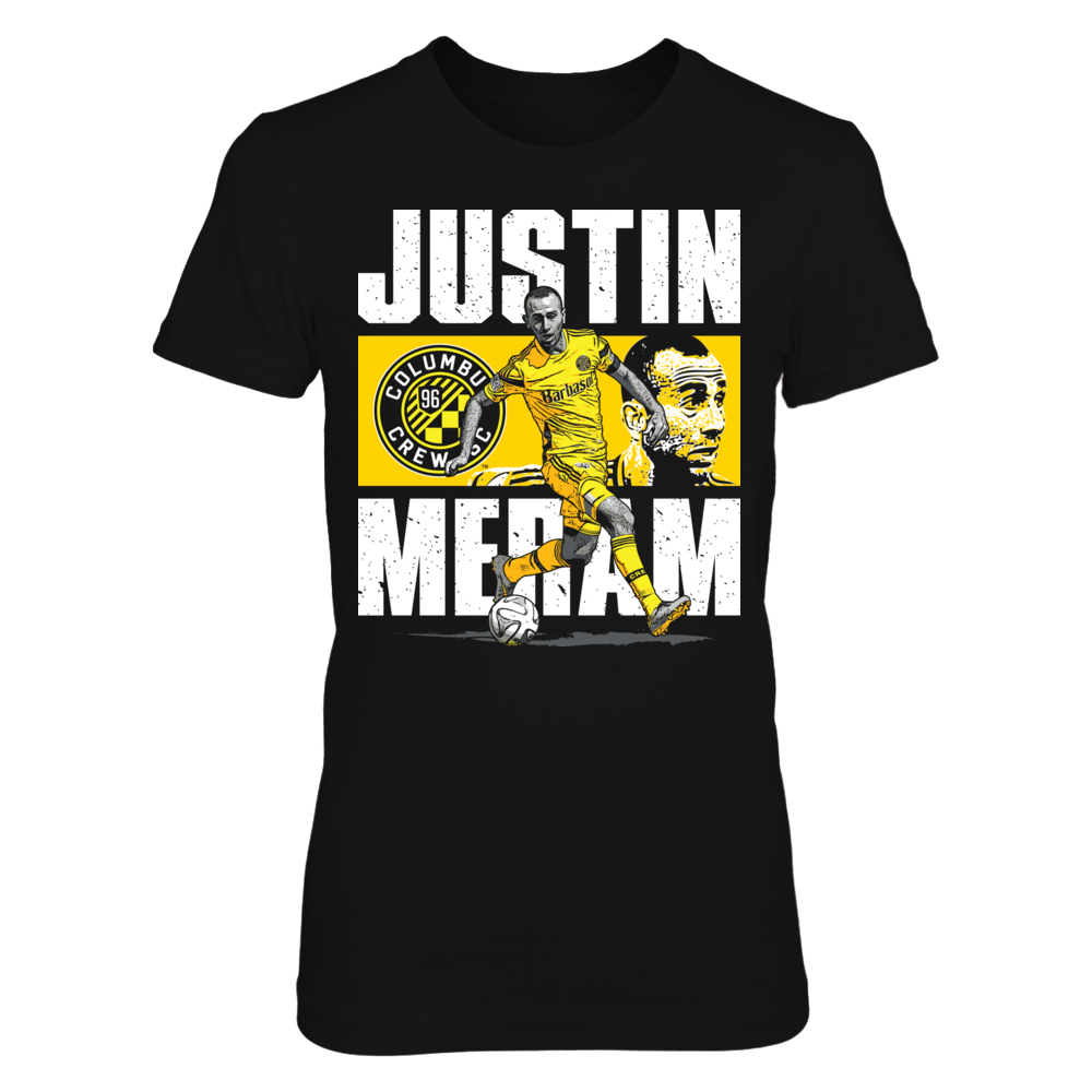 Player Portrait - Justin Meram Front picture