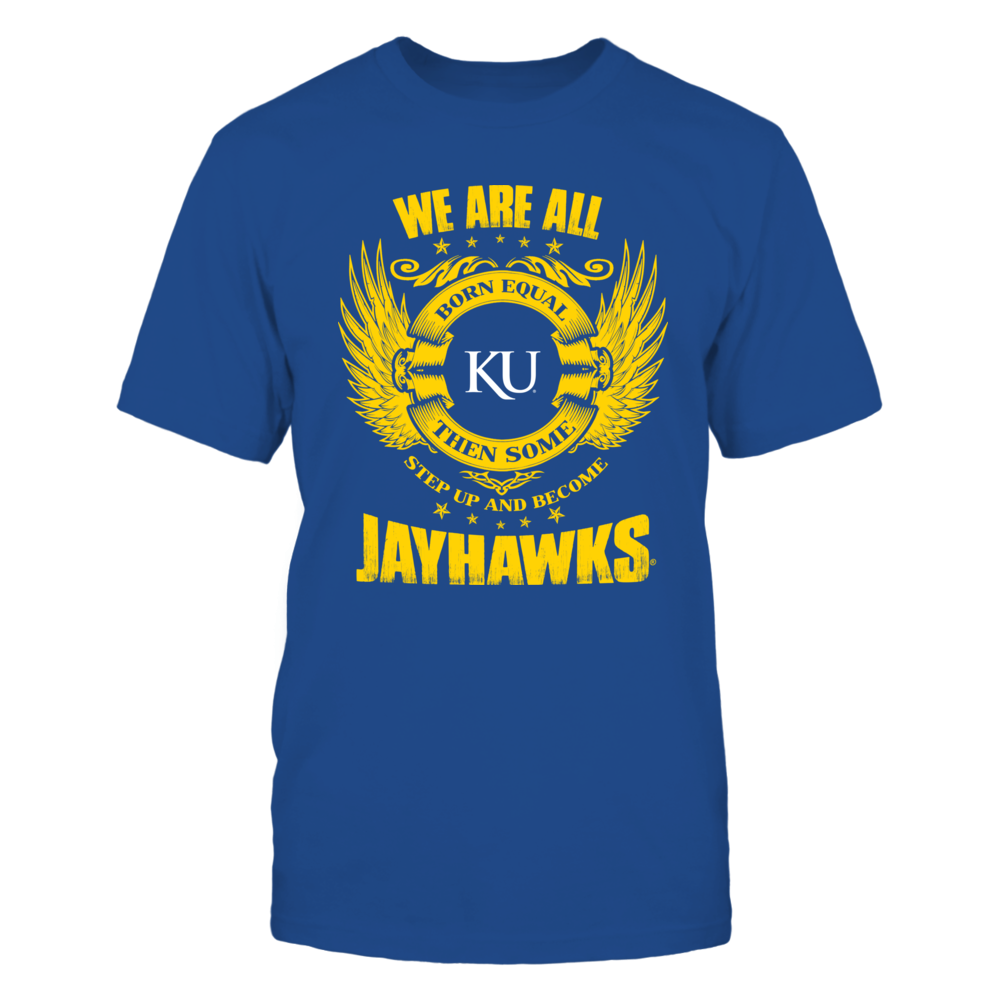 Kansas Jayhawks Step Up JayHawks FanPrint