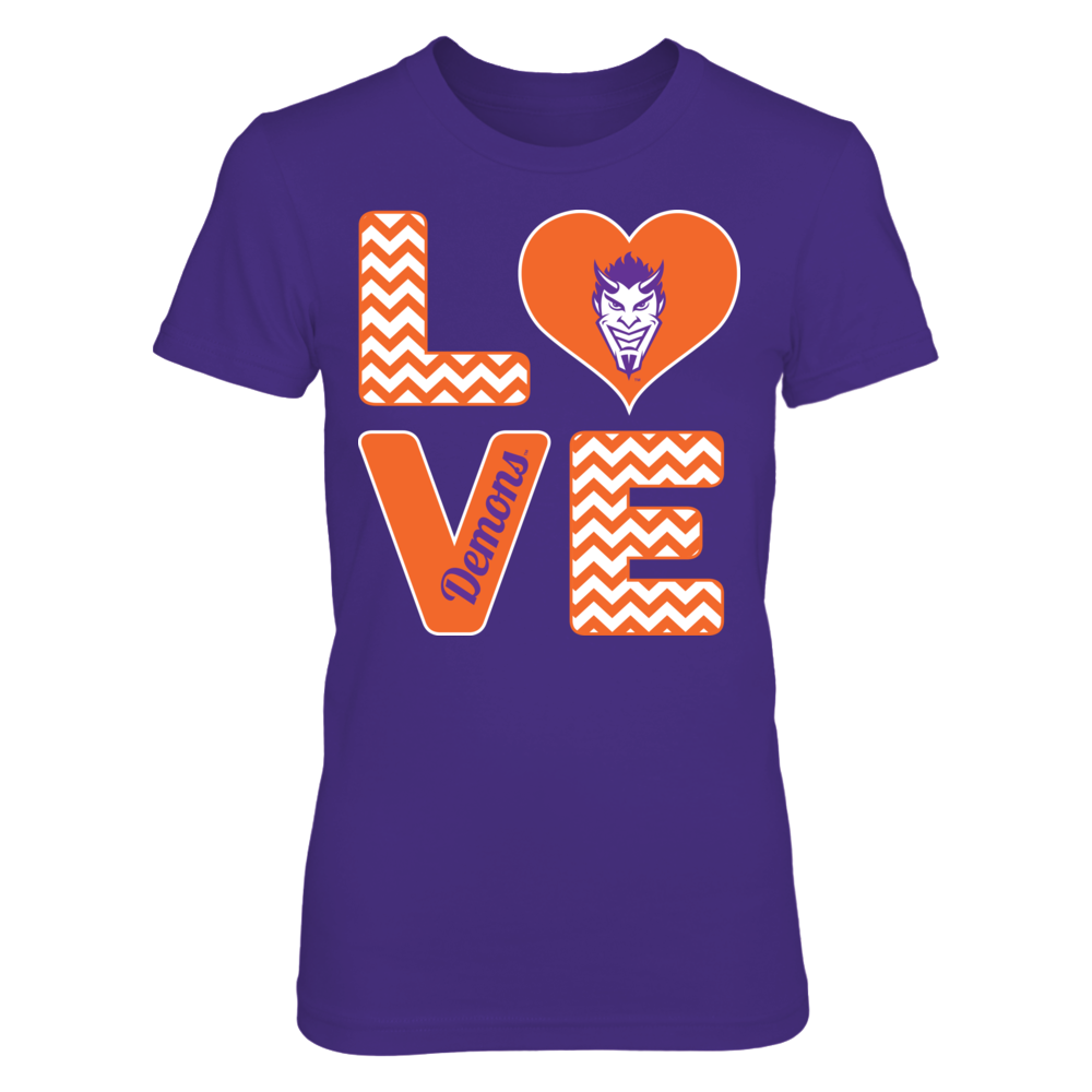 Northwestern State Demons Stacked Love - Northwestern State Demons FanPrint