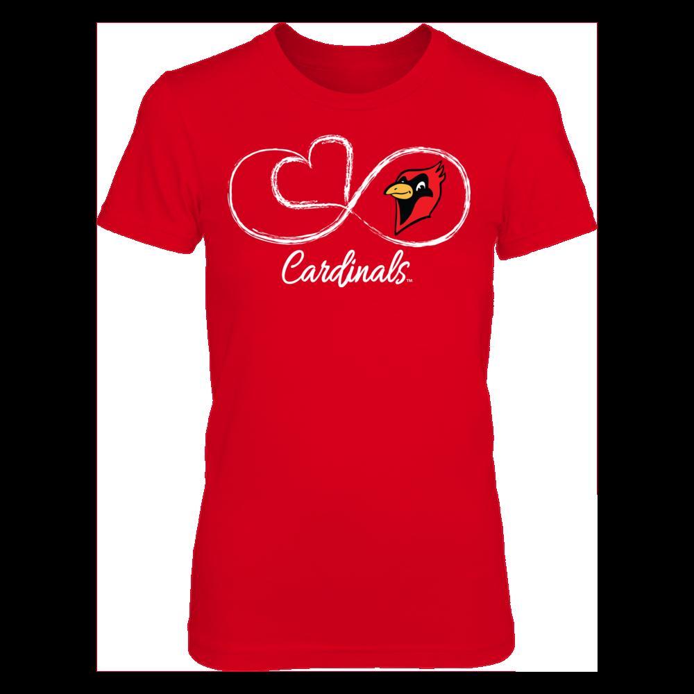 Otterbein Cardinals Infinite Heart - Otterbein Cardinals FanPrint