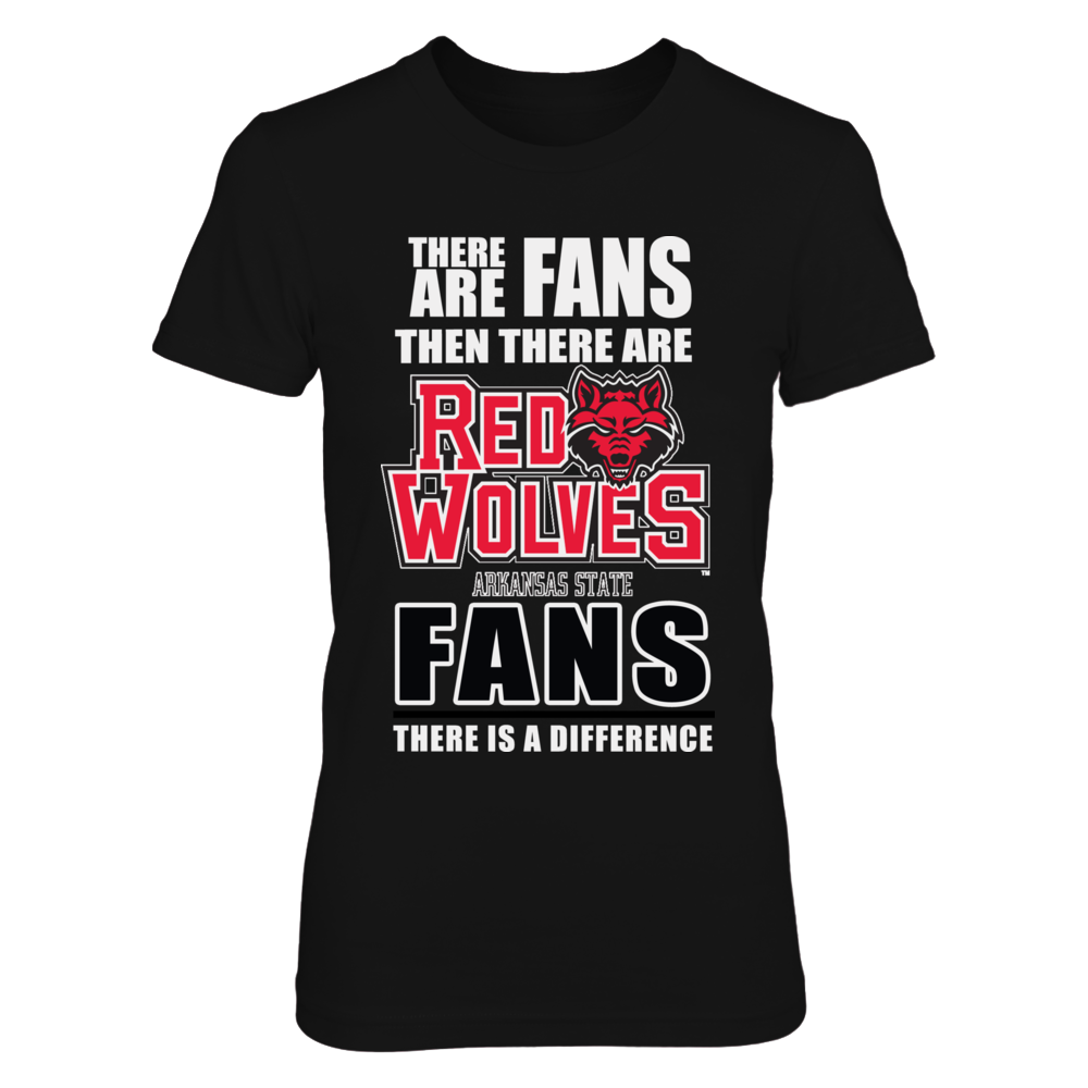 Arkansas State Red Wolves Fans Front picture