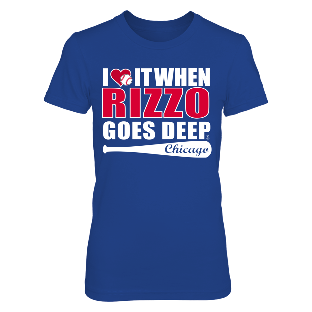 RIZZO GOES DEEP Front picture