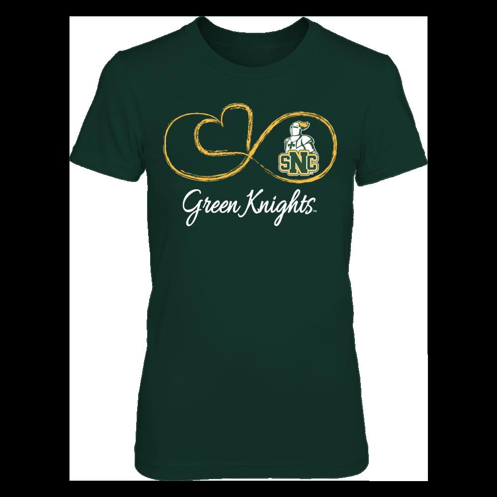 St. Norbert Green Knights Infinite Heart - St. Norbert Green Knights FanPrint