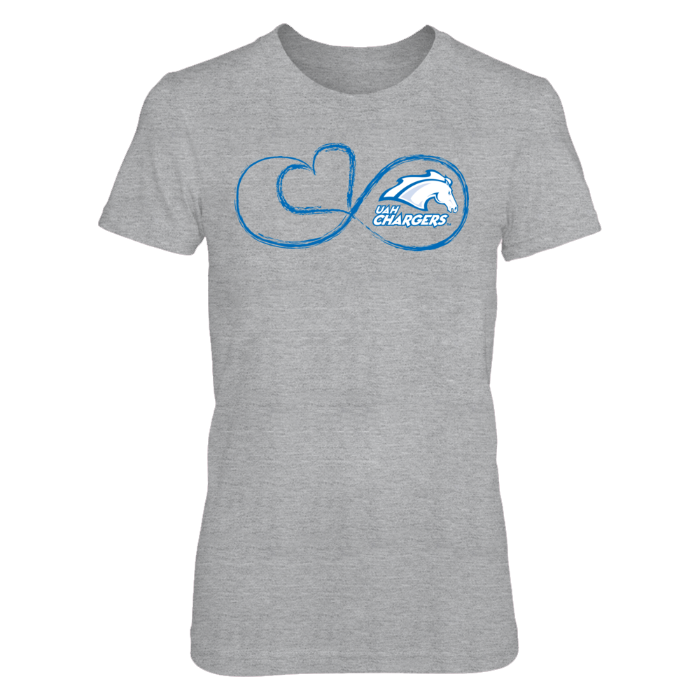 UAH Chargers Infinite Heart - UAH Chargers FanPrint