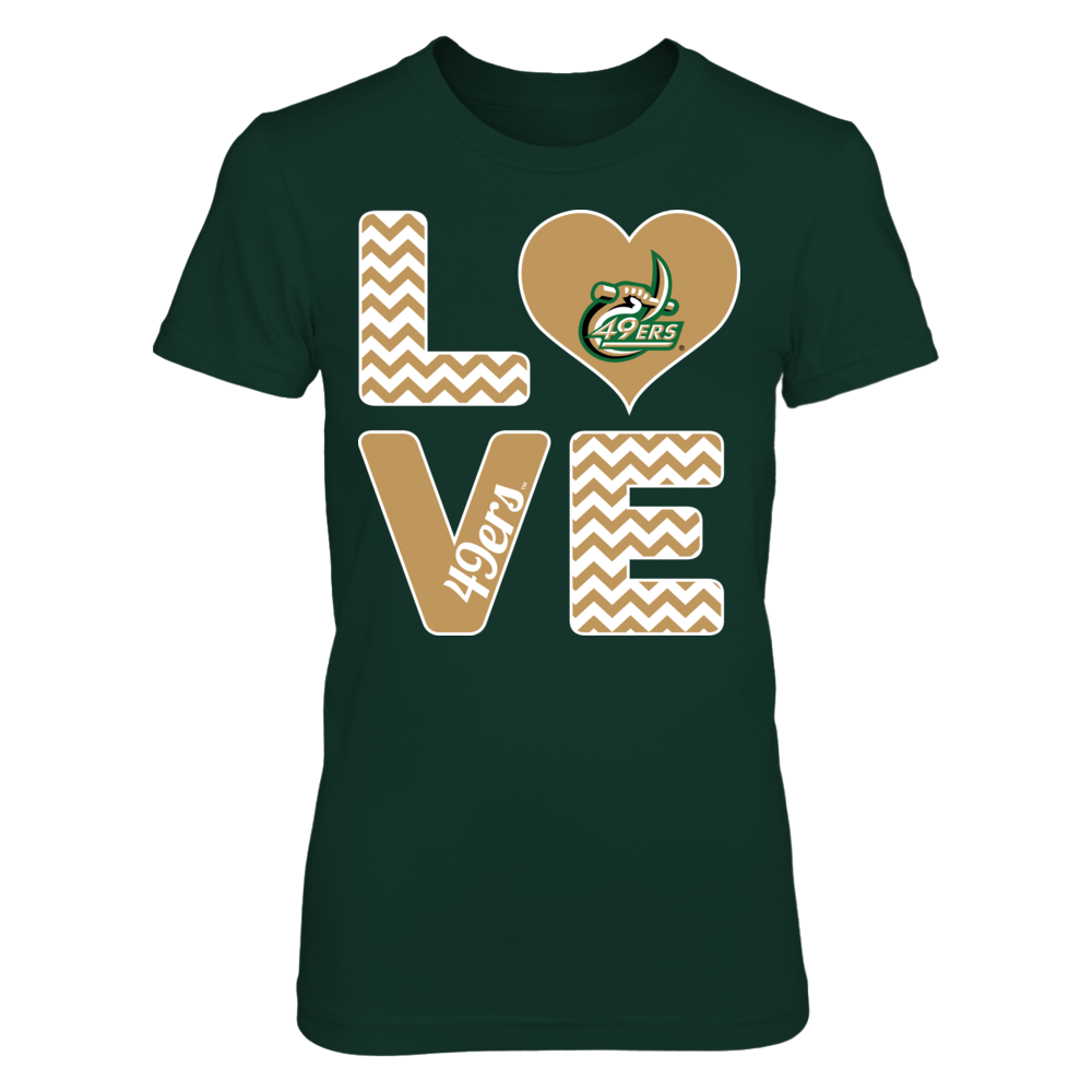Stacked Love - UNC Charlotte 49ers Front picture