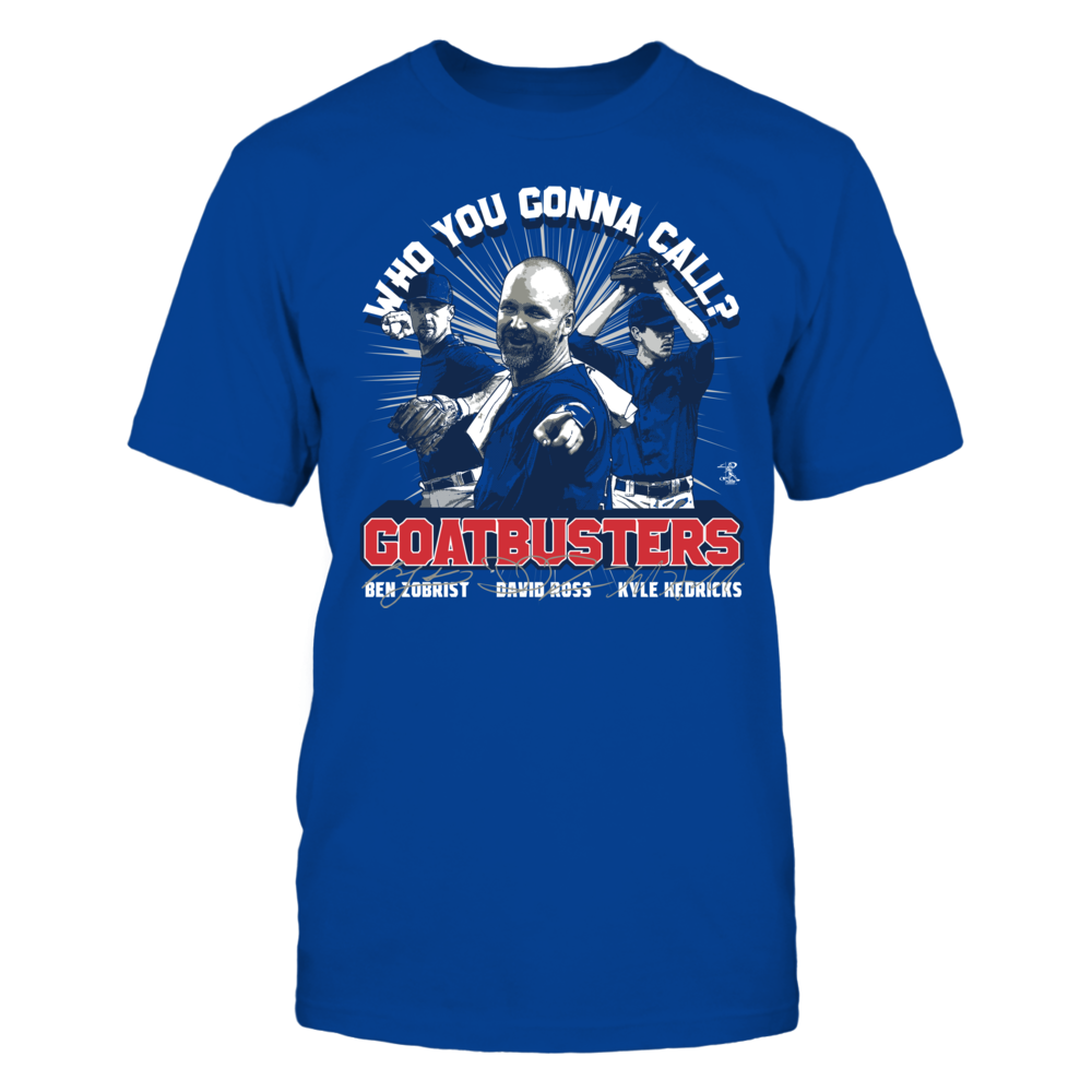 Ben Zobrist Who You Gonna Call? GOATBUSTERS -  Ben Zobrist FanPrint