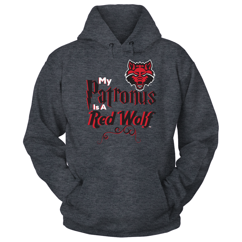 Arkansas State Red Wolves Arkansas State Redwolves My Patronus is a Red Wolf FanPrint