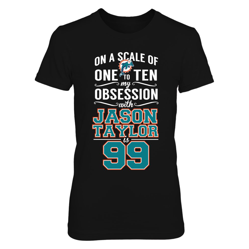 Miami Dolphins Jason Taylor - Obsession Level FanPrint