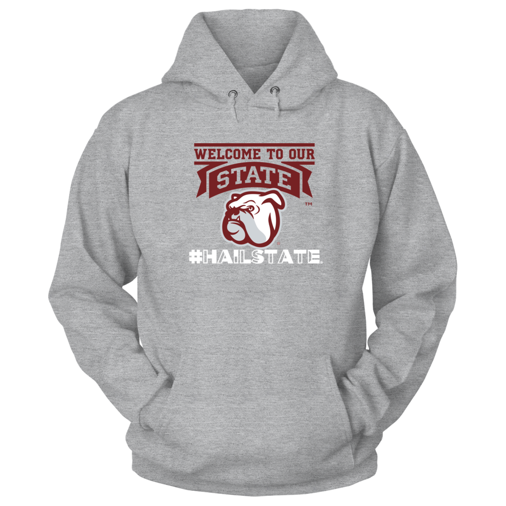 Official Mississippi State Fan Merchandise #HailState Welcome Head Front picture
