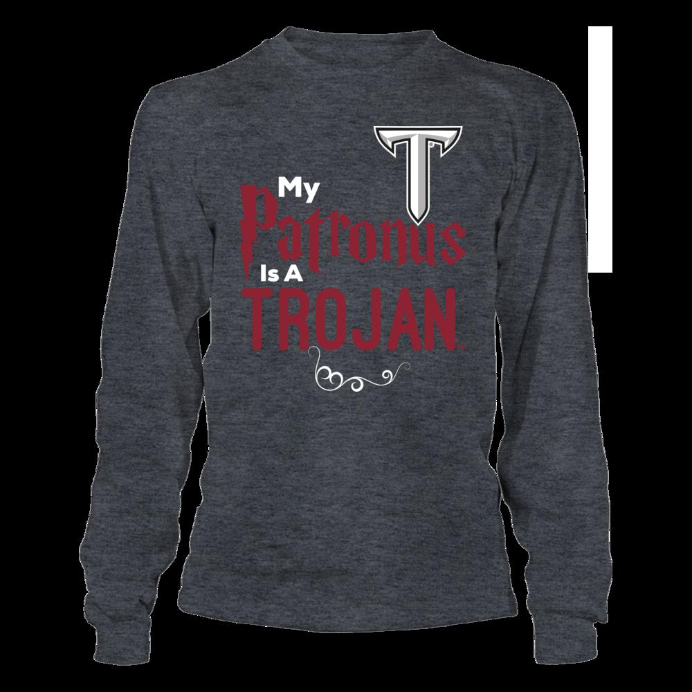 Official Troy Trojans Fan Gear My Patronus Is A Trojan Front picture