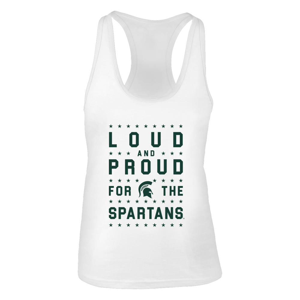Michigan State Spartans Loud and Proud for the Spartans FanPrint