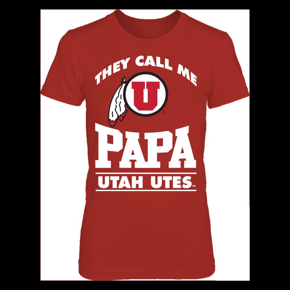 Utah Utes They Call Me Papa - Utah Utes FanPrint