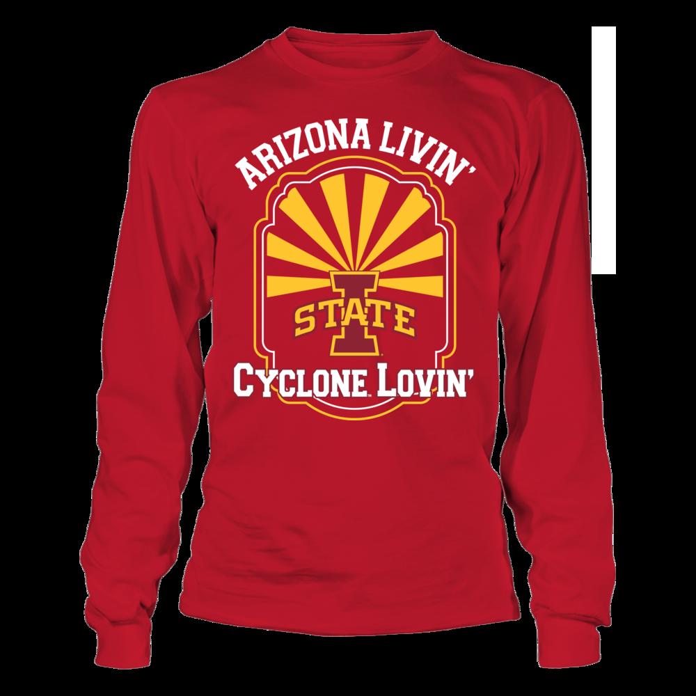 Arizona Livin' Cyclone Lovin' - Iowa State Cyclones Front picture