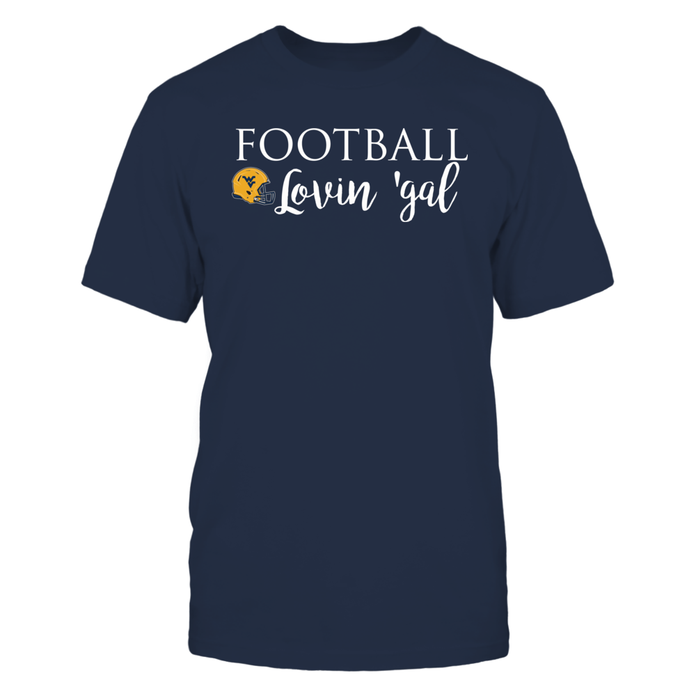 West Virginia Mountaineers West Virginia Mountaineers Football Lovin Gal FanPrint
