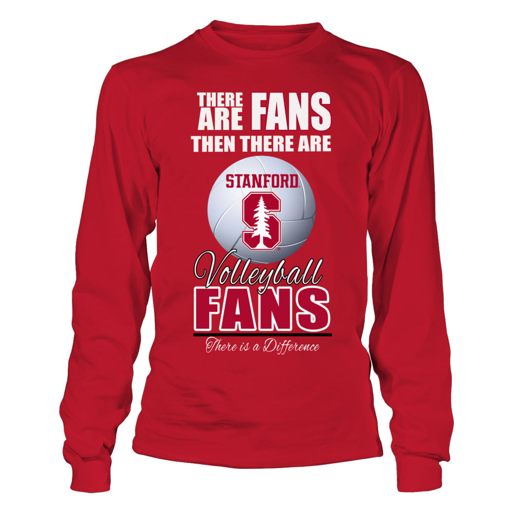 Stanford Cardinal Standford Cardinal Volleyball - Fan Shirt FanPrint