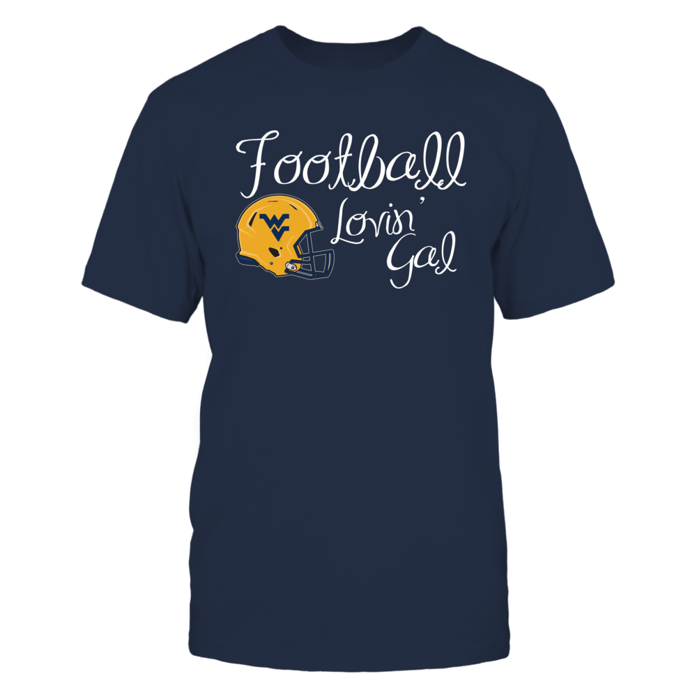West Virginia Football Lovin Gal Front picture