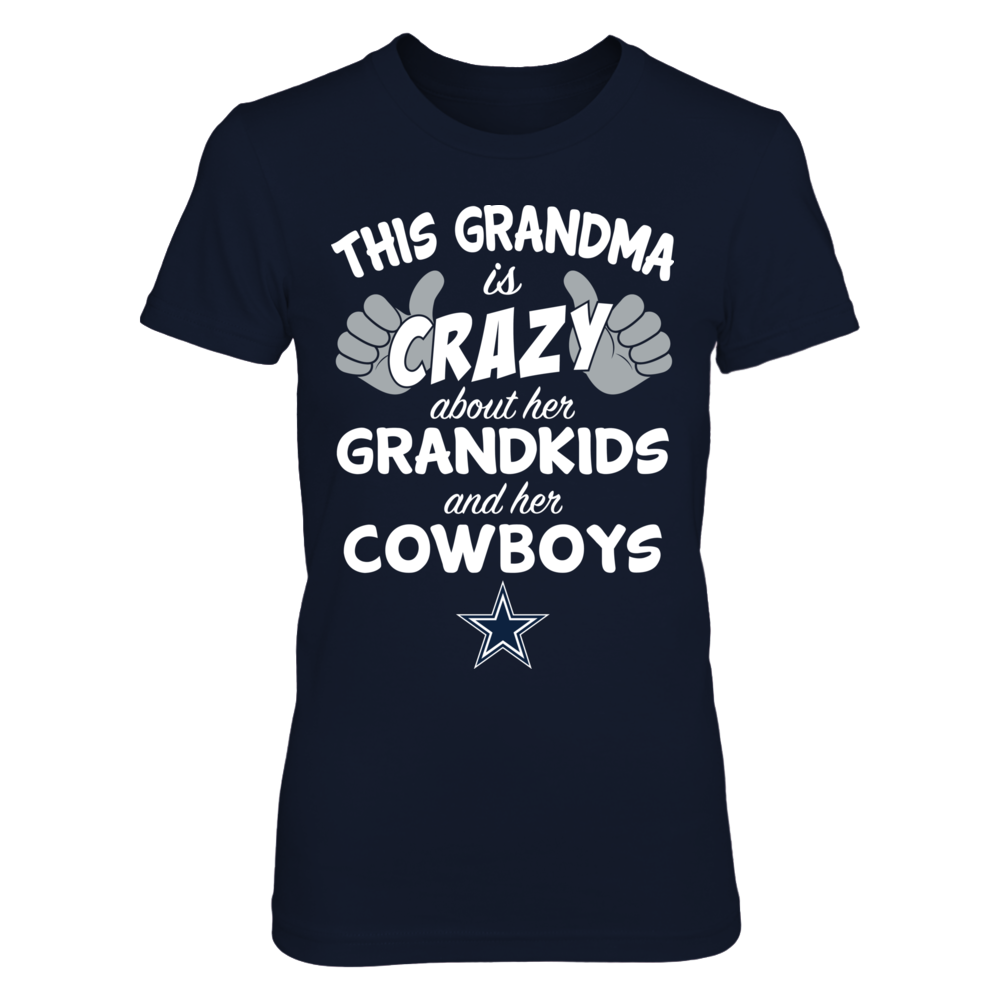 Dallas Cowboys - This Grandma Is Crazy About Her Grandkids And Her Front picture
