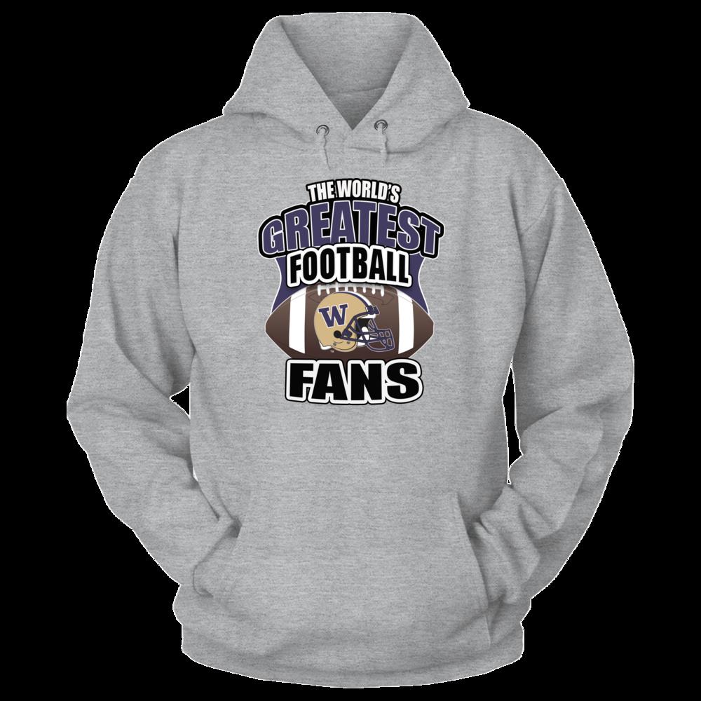 Washington Huskies Washington Huskies Football- Greatest Fans FanPrint