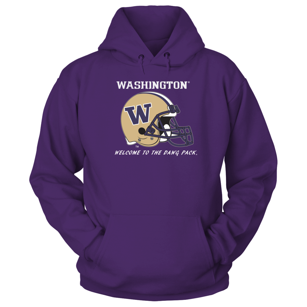 Washington Huskies Football Apparel - Welcome to the Dawg Pack Front picture