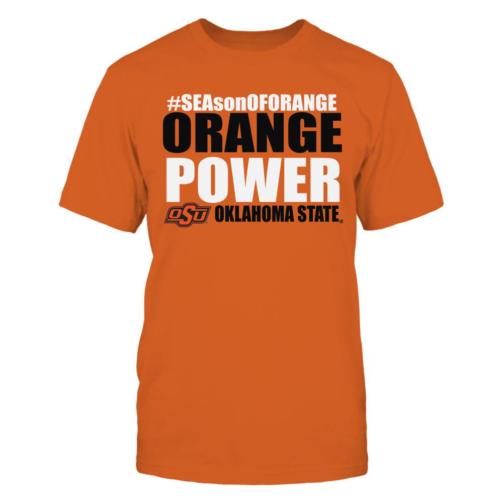 Oklahoma State Cowboys Okla State University Athletics Store - Orange Power FanPrint