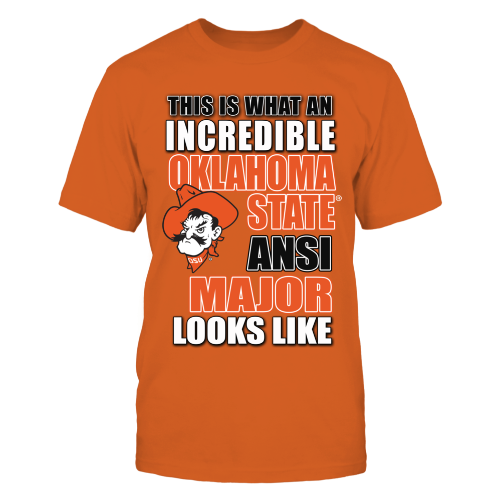 Oklahoma State Cowboys Okla State University Clothing - Animal Science Major FanPrint