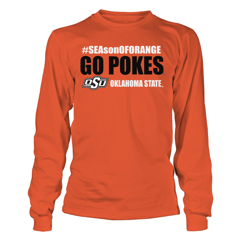 Oklahoma State Cowboys Okla State University Athletics Store - The SEAson of Orange FanPrint